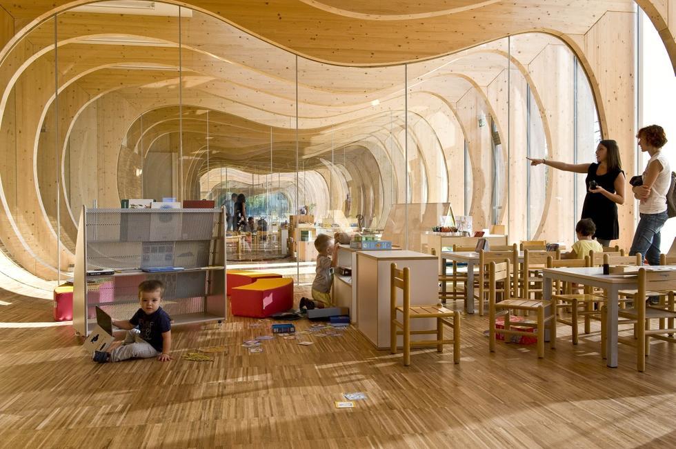 Przedszkole we w oszech architektura murator for Space 120 architects