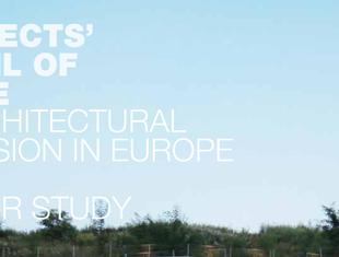 Architekci w Europie. Raport 2016