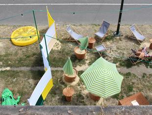 Tymczasowy urbanizm. Budcud dla Festiwalu Kultury Żydowskiej